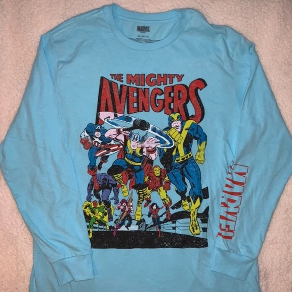 The mighty avengers long sleeve shirt